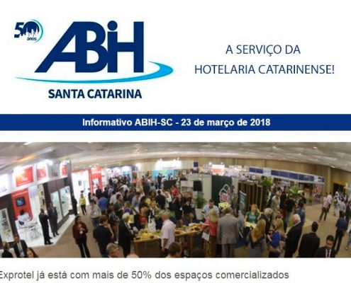 Informativo ABIH-SC 22 de março de 2018