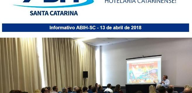Informativo ABIH-SC 13 de abril