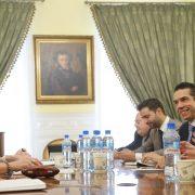 Encontro com a vice-ministra de Cultura da Rússia