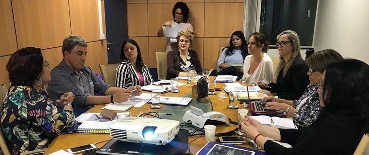 Encontro contou com a participação de representantes das cinco macrorregiões brasileiras, em Brasília.