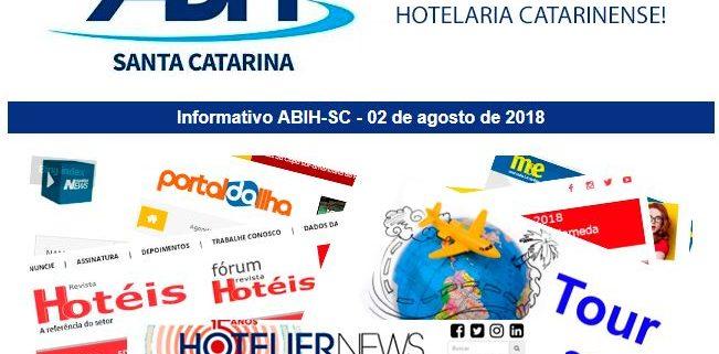 Informativo ABIH-SC 03 de agosto