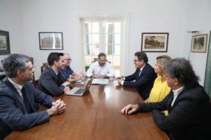 Representantes brasileiros se reuniram na Dinamarca nesta segunda-feira (20)