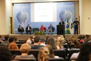 Qualidade dos cursos de Turismo foi pauta de seminário internacional nesta quarta-feira (12), em Brasília. Foto: Roberto Castro/MTur
