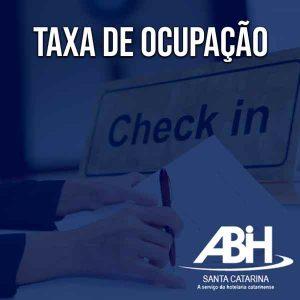 Confira a Taxa de Ocupação divulgada pela ABIH-SC mensalmente