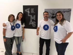 Andrea Monteiro e Michelle Pereira da ONG Autonomia e Samuel Koch e Lara Perdigão