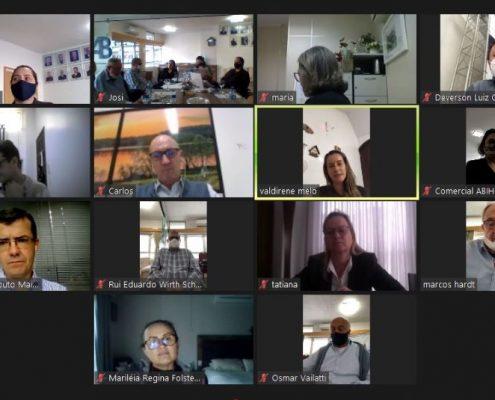 Reunião de Diretoria Executiva ABIH-SC