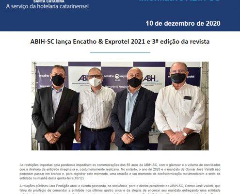 Informativo ABIH-SC 10 de dezembro de 2020