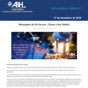 Informativo ABIH-SC 17 de dezembro