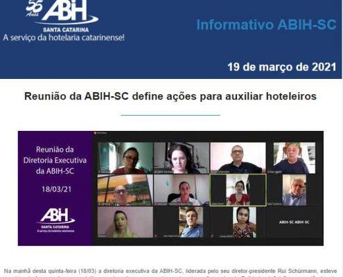 Informativo ABIH-SC 19 de março