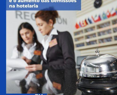 aumento das demissões na hotelaria abih-sc