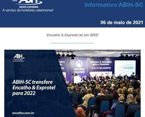 Informativo abih-sc 06 de maio