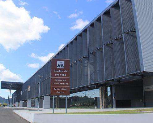 Consórcio envia proposta para gerir Centro de Eventos de Balneário Camboriú