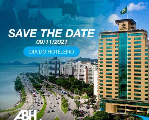 dia do hoteleiro - save the date - abih-sc