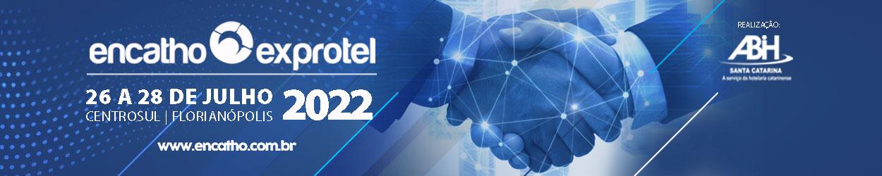 Encatho e Exprotel 2022 de 26 a 28 em julho