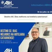 Informativo 30 de julho ABIH-SC