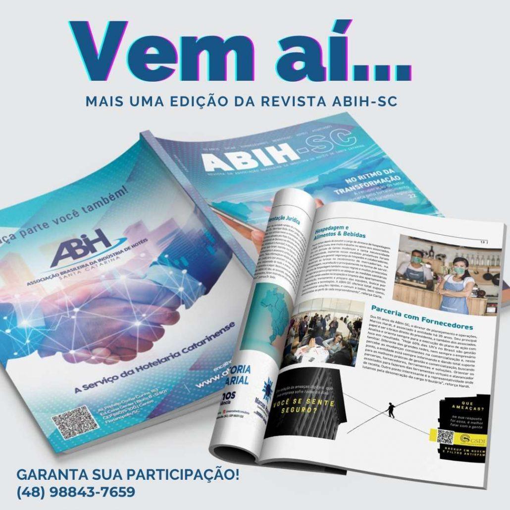 revista ABIH-SC 4ª edição