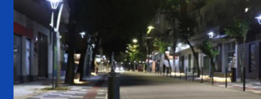 requalificação de rua em Blumenau (SC)